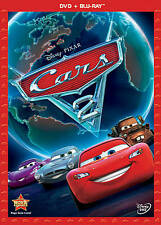 Cars 2 (Blu-ray/DVD, 2011, 2-Disc Set, DVD/Blu-ray)