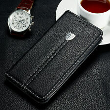 Luxury Magnetic Flip Cover Stand Wallet Leather Case for Samsung Galaxy Model