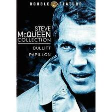 BULLITT / PAPILLON Steve McQueen Collection (DVD, 2009) NEW SEALED