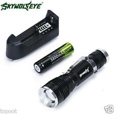 5000Lumen CREE 3 Modes Q5 LED Flashlight Mini 18650 Rechargable Torch Light Lamp