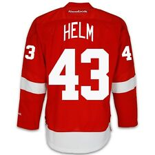 Darren Helm Detroit Red Wings Home Jersey by Reebok