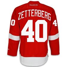 Henrik Zetterberg Detroit Red Wings Home Jersey by Reebok