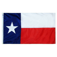 Texas Lone Star State Indoor Outdoor Parade Sewn Flag All Larger Sizes
