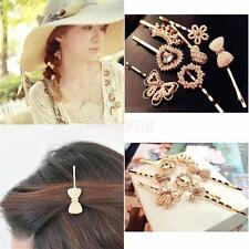 Girls Cute Crystal Hair Pin Hair Clip Headwear Wedding Barrette Hair Accessory