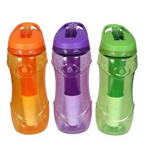 Cool Gear Water Bottle Sports Drink BPA Free Cycling Gym Hydration Filter Hiking