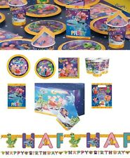 Clangers Party Tableware Supplies Plates Napkins Cups Birthday Decorations