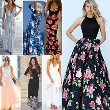 Womens Sexy Summer Dress Boho Maxi Long Evening Party Dress Beach Dress Sundress