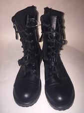 Girls Cherokee Lace-Up Combat Boots Size 5 NWOT