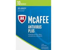 McAfee 2017 Antivirus Plus 10 Devices 1-year for PC, Mac, Smartphone & Tablet