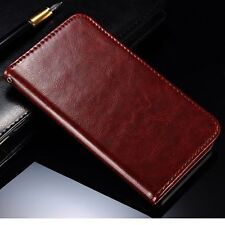 For Sony Xperia Z3 New Luxury PU Leather Flip Wallet Case Cover Slot Card Holder