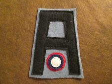 WWI US Army Air service patch First 1st Army Aero Squadron Patch AEF