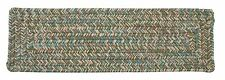 Corsica Indoor Outdoor Rectangle Braided Stair Tread, Seagrass ~ Made in USA