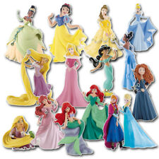Disney Princesses Cake Toppers - Bullyland Official Figurine Toy Decorations