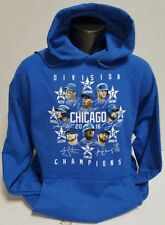 CHICAGO CUBS 2016 National League CENTRAL DIVISION CHAMPS AD HOODIE SWEATSHIRT