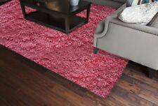 """Candy Shag Passion Pink 1.5"""" Thick Ultra Soft Luxury Shag Area Rug"""