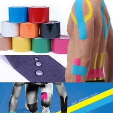 5cm x 5m Sports Kinesiology Tape Kinesio Roll Cotton Elastic Adhesive Muscle