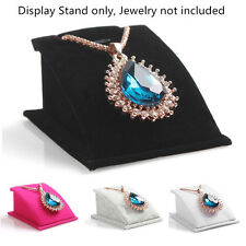 Fashion Jewelry Necklace Pendant Drop Chain Display Holder Stand VelvetღHot Sale