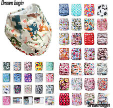 buy 5 get 1 free, REUSABLE NAPPIES FOR BABY BABIES NEWBORN CLOTH DIAPER NAPPIES