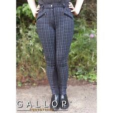 Gallop New Oxford Check Ladies  Jodhpurs - Choice of Colours