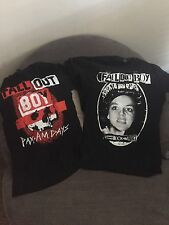 Mens Small Fall Out Boy conshirt 2 pack Christmas Special