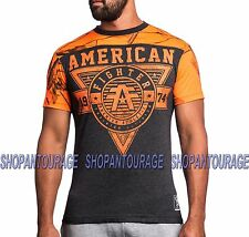 AMERICAN FIGHTER Charleston FM3453 Men`s Black RealTree T-shirt By Affliction
