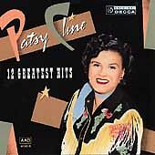 Patsy Cline- 12 Greatest Hits(CD) LIKE NEW