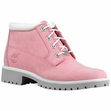 NIB Timberland Classic Nellie Pink Color Leather Waterproof Women's boots size