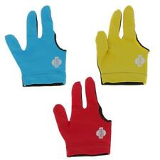 Pro Lycra Three Finger Snooker Billiard Table Cue Pool Glove for RIGHT HAND