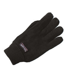 Portwest Cold Weather Knitted Ribbed Cuff Acrylic Thinsulate Lined Gloves UK