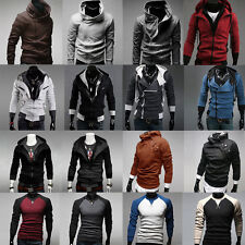 Men's Slim Fit Hooded Sweatshirt Hoodies Winter Jacket Coats Jumper Tops Outwear