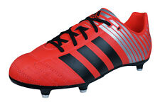 adidas Regulate Kakari SG J Boys Rugby Boots / Cleats - Red - F32562