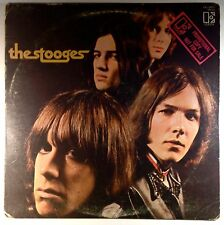 The Stooges - 1st album 1st pressing WHITE LABEL PROMO MISPRINT ultra RARE  Iggy