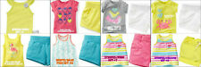 * NWT NEW GIRLS Carter's Tank & Animal Scooter SUMMER OUTFIT SET 2T 3T 4T