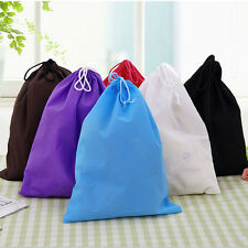 Portable Shoes Bag Travel Sport Storage Pouch Drawstring Dust Bags Non-woven RW