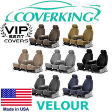 Coverking Velour Custom Seat Covers Chevrolet Colorado