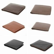 Mens Luxury Soft Quality 100% Real Genuine Leather Wallet Credit Card Holder