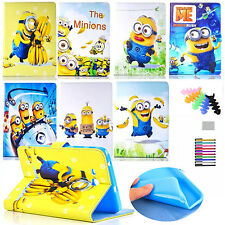 Minions Case For Apple iPad 2nd,3rd,4th Tablet Case PU Leather Protective Cover