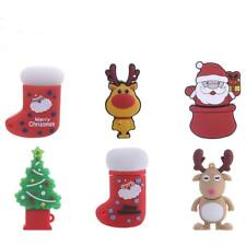 USB 2.0 Flash Memory Stick 4/8/16/32/64GB Pen Drive Storage Christmas Cute Shape