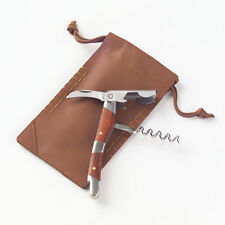 Clava Corkscrew with Leather Pouch