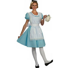 Alice In Wonderland Maid Costume Fancy Dress Halloween Fairytale Book Day Party