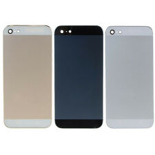 New Housing Back Door Rear Battery Cover Metal Case Replacement For iPhone 5G