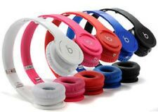 Beats by Dr. Dre Drenched Solo On-Ear Wired Headphones, Red or Black