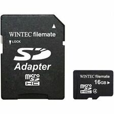 Filemate 16GB Micro SDHC Memory Card with SD Adapter 1yr Manufacturer WARRANTY