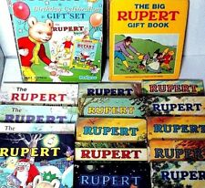 COLLECTABLE RUPERT BEAR ANNUALS 1966/2005  - click - SELECT - to chose and order