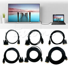 3-10M 24+1 HDMI To DVI Male Cable Mutual DVI-D Male to HDMI Convert for HDTV HD