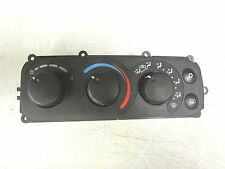 98-04 CHRYSLER 300M CONCORDE  INTREPID CLIMATE CONTROL A/C HEATER