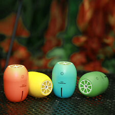 Lemon Creative Ultrasonic Humidifier Night Light Electric Diffuser Mist Maker SM