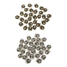 30 Vintage Bird's Nest Faux Pearl Bead Charm Birthstone Pendant Jewelry Finding