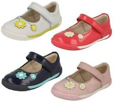 Clarks First Girls Shoes Softly Jam