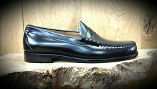 G. H. Bass & Co // Weejuns // Larson Moc Penny Loafers Black Mens Shoes // NEW!!